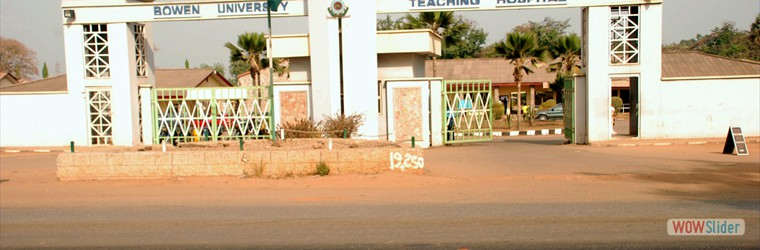 Bowen University Teaching Hospital Main Gate