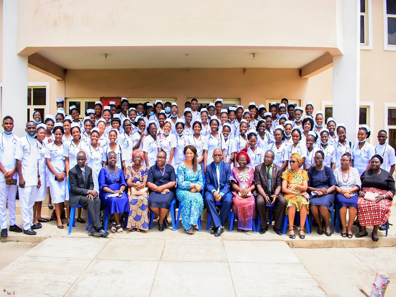 Capping Ceremony for BUTH Nursing Student 2020 Set