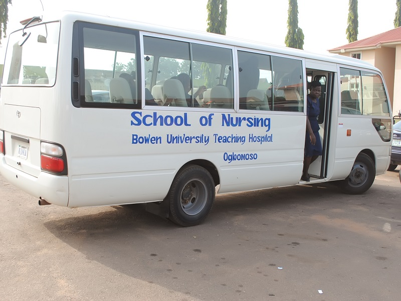 School of Nursing Bus